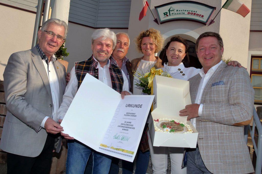 30 Jahre Pizzeria Dobner
