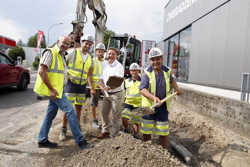 Heidenfeldstraße: Villach schließt Radweg-Lücke