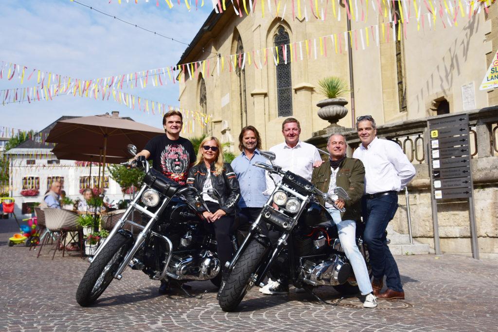 Harleys sind in Villach herzlich willkommen