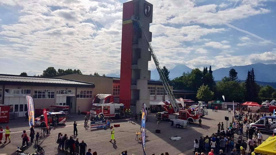 Feuerwehr schrieb Sicherheit groß