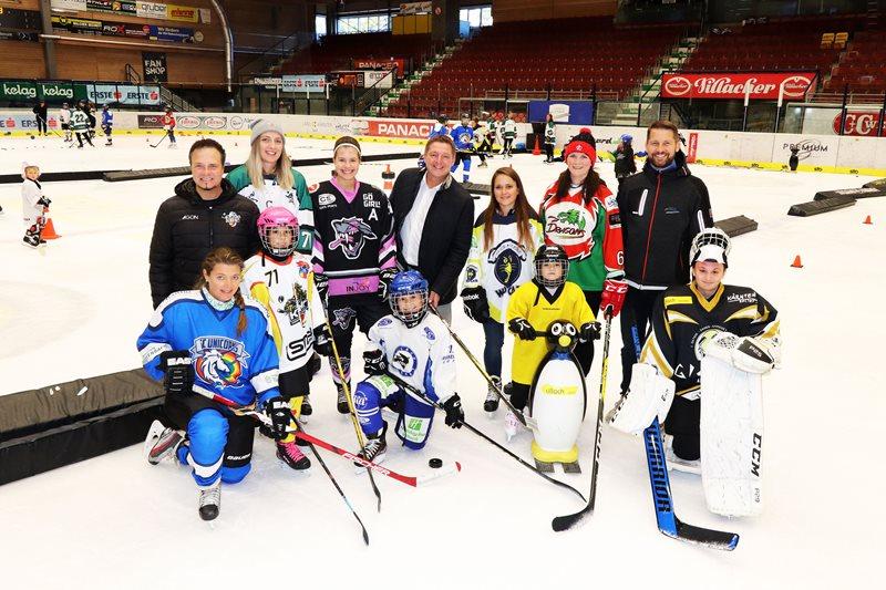 Volles Haus beim Girls Hockey Day
