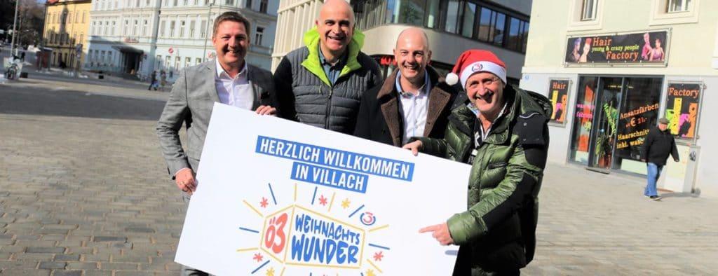 Wer macht mit? Ö3 Weihnachtswunder in Villach