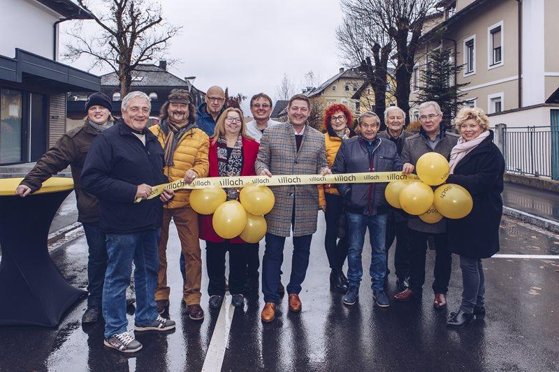 Völkendorf eröffnete die erneuerte Straße