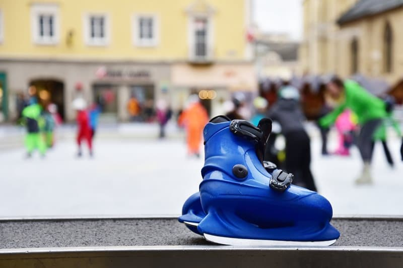 Geänderte Öffnungszeiten am Rathaus-Eislaufplatz