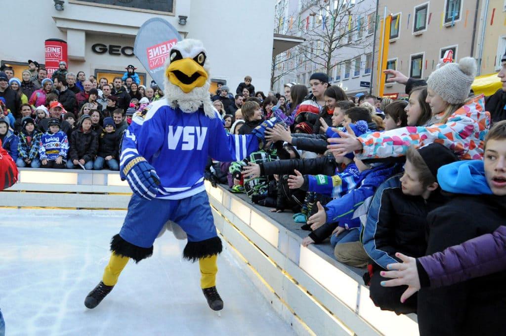 Heute: VSV-Stars laden zum Showtraining ein
