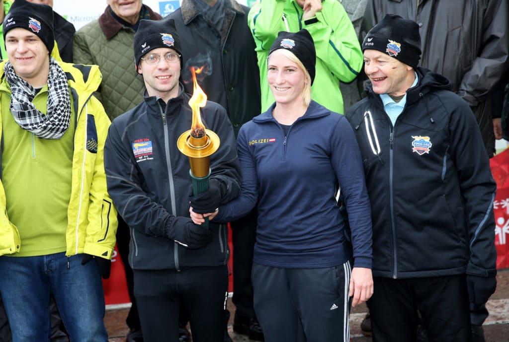 Special Olympics: Offizielle Eröffnung und Fackellauf