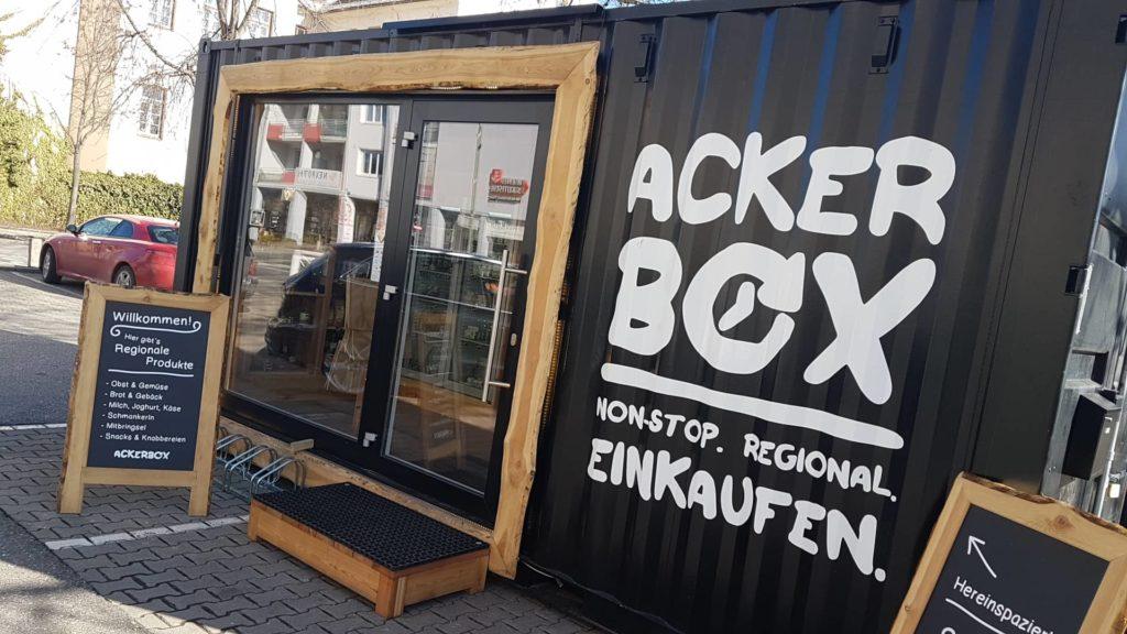 Ackerbox: Non stop regional einkaufen