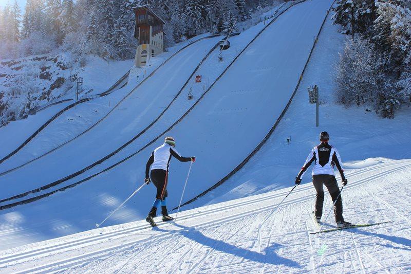 Alpen Arena: Betrieb trotz Demonstration gesichert