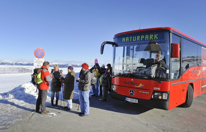 Naturpark-Bus fährt in den Ferien gratis!