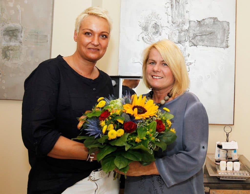 Petra Albel, eine Meisterin der Fußpflege