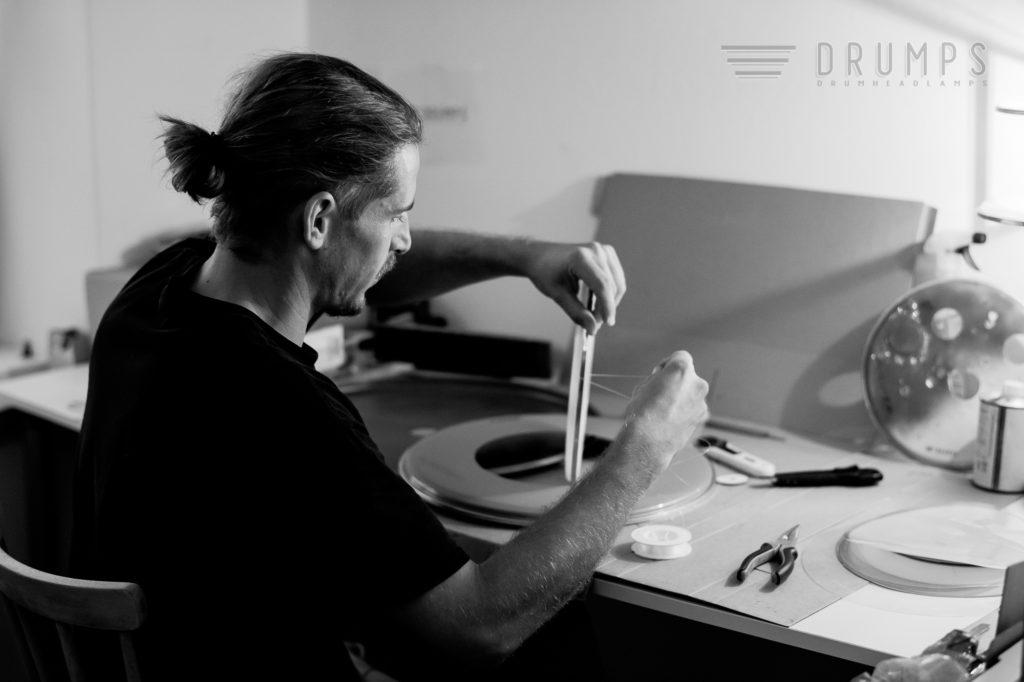 Georg Hohenwarter, sein Kunsthandwerk bringt Musik zum Leuchten
