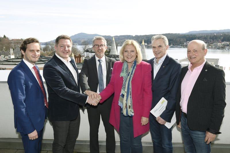 Villach und Klagenfurt beschließen Kooperation