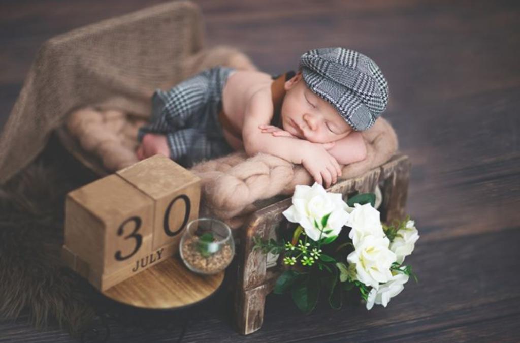 Sie macht Babyfotos, die das Herz berühren!