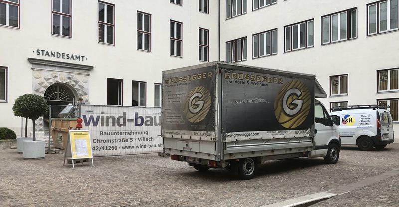 Rathaus-Umbau stärkt Villacher Wirtschaft