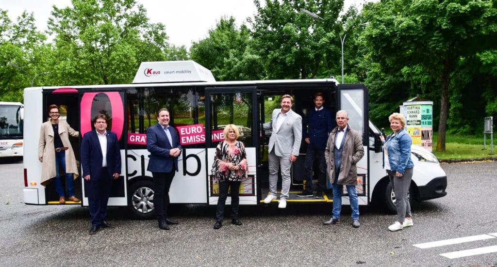 Gratis und abgasfrei: Villach fährt jetzt Citybus