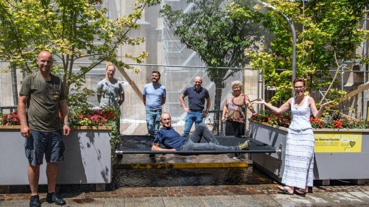 """""""Sommerfrischler"""" bringt Abkühlung in die Innenstadt"""