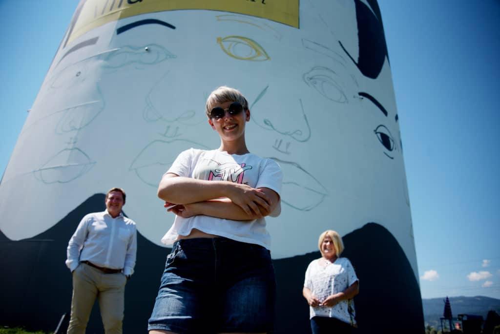 Villachs größtes Street-Art-Projekt nimmt Formen an