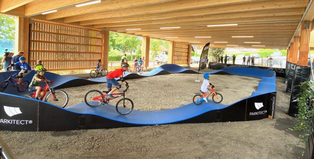 Radsport-Anlage in Drobollach eröffnet