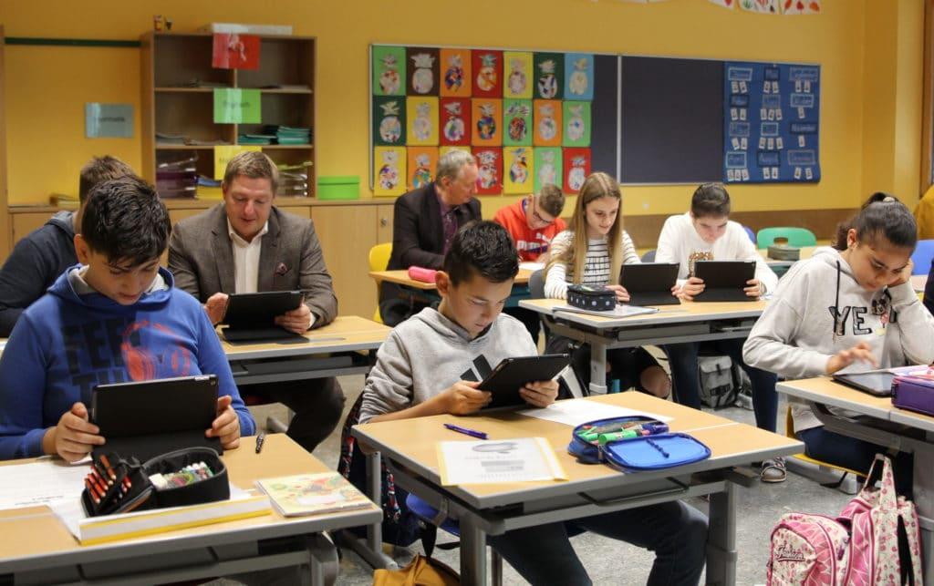 104 Tablets für Villachs Mittelschulen