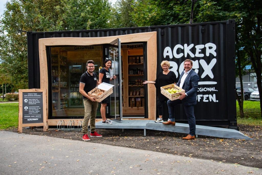 AckerBox versorgt jetzt auch Technologiepark
