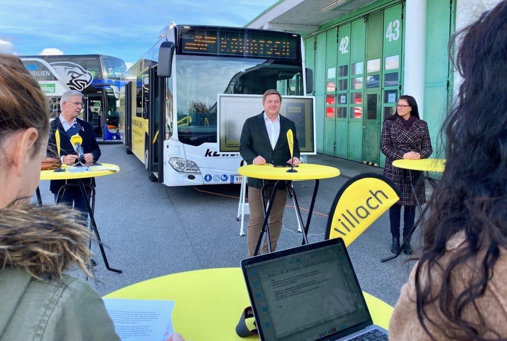 Auftakt für Busverkehr mit Takt-Zeitplan