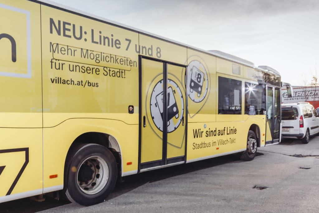 Am Montag startet der Bus-Taktverkehr