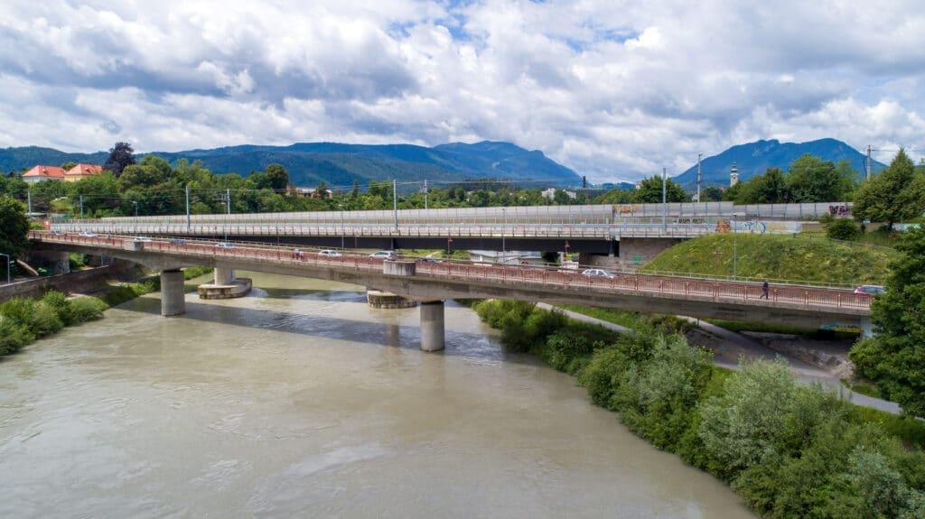 Alpen-Adria-Brücke wieder frei befahrbar