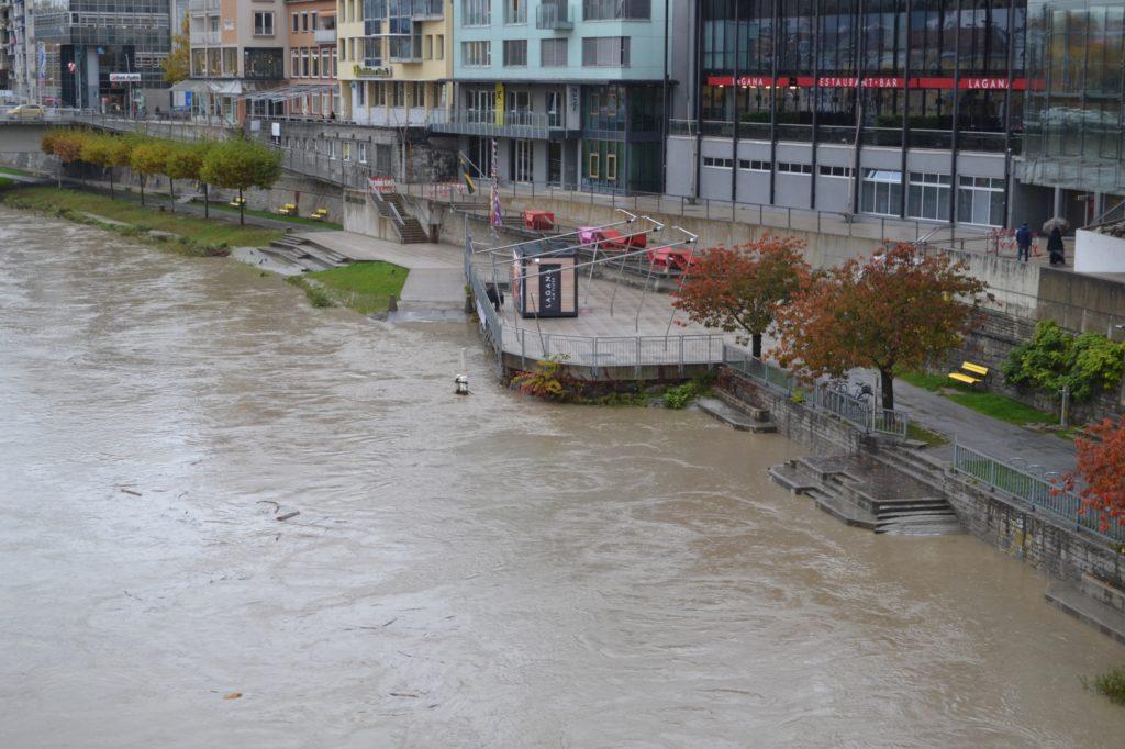 Stadt Villach baut Hochwasserschutz massiv aus
