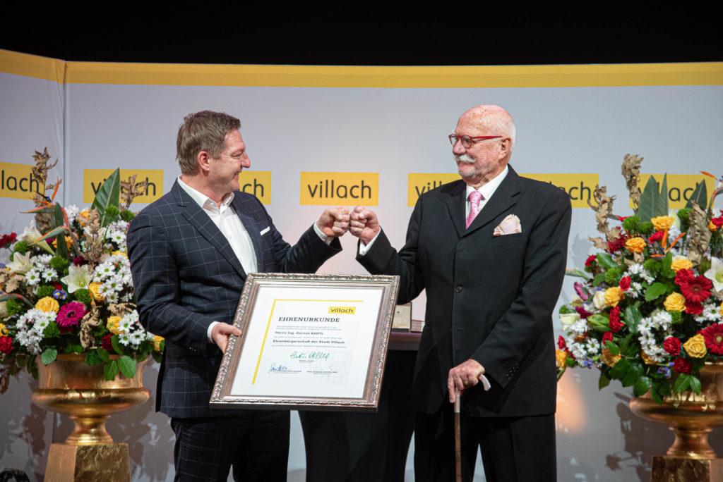 Würdevoller Festakt für Ehrenbürger Gernot Bartl