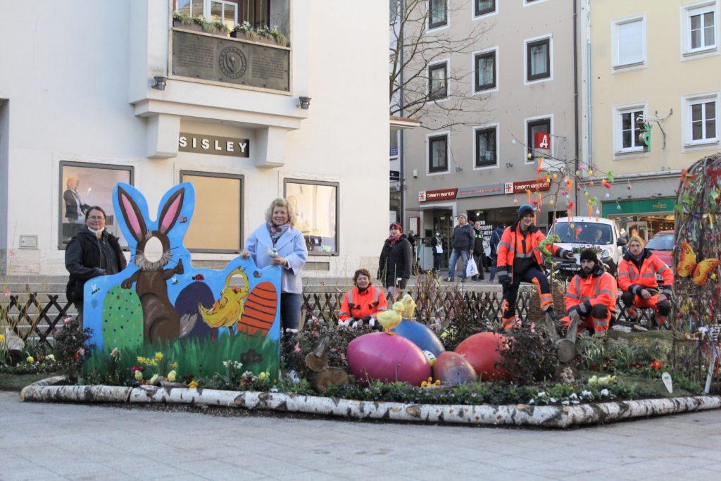 Osterstimmung in der Innenstadt