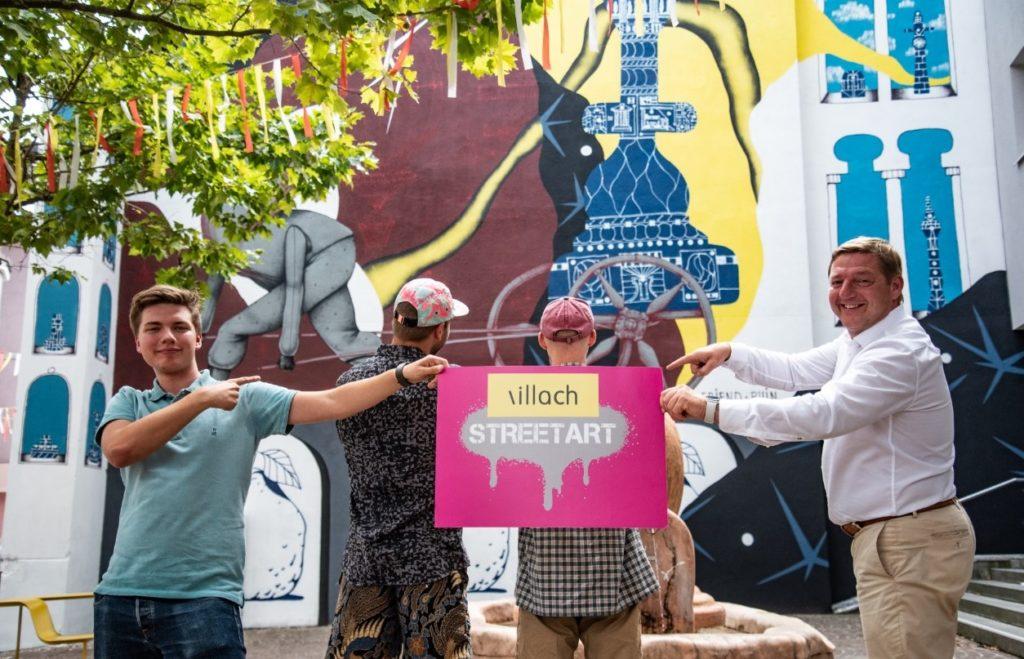 Villach sucht kreative Street Art Entwürfe