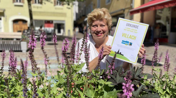 Villach ist seit fünf Jahren offizielle Fairtrade-Stadt