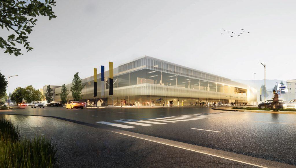 So wird Villachs neue Eishalle aussehen