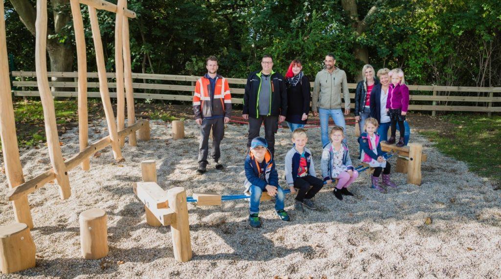 Große Freude über neuen Spielplatz in St. Magdalen